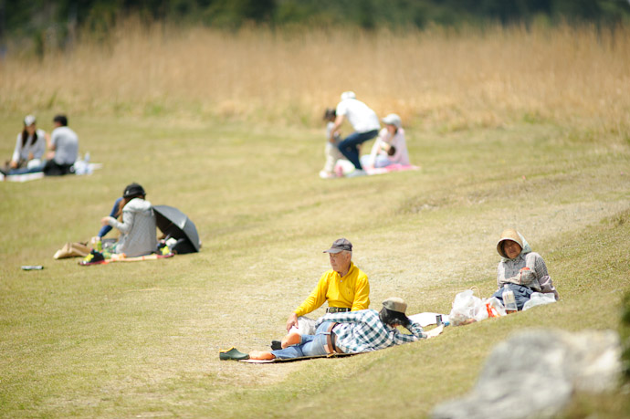 Others Enjoying the Park -- Oishi Kougen (生石高原) -- Kaisougun, Wakayama, Japan -- Copyright 2011 Jeffrey Friedl, http://regex.info/blog/