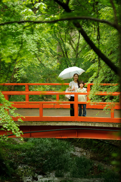 Random Bridge -- Sanzen-in Temple (三千院) -- Kyoto, Japan -- Copyright 2011 Jeffrey Friedl, http://regex.info/blog/