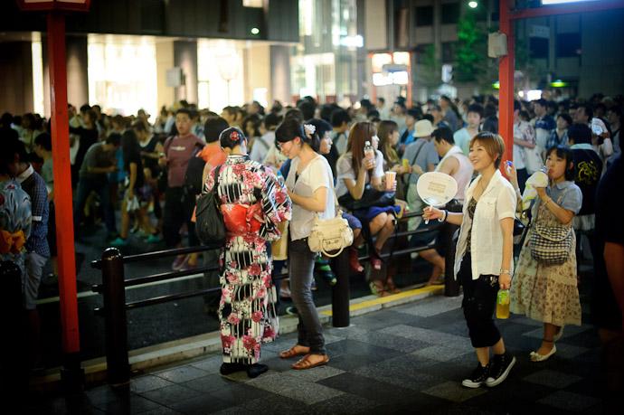 Festive Atmosphere -- Gion Matsuri (祇園祭) -- Kyoto, Japan -- Copyright 2011 Jeffrey Friedl, http://regex.info/blog/