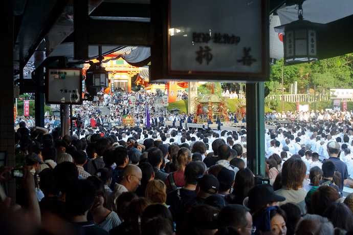 Big Crowd -- Gion Matsuri Shinkousai (祇園祭、神幸祭) -- Kyoto, Japan -- Copyright 2011 Jeffrey Friedl, http://regex.info/blog/