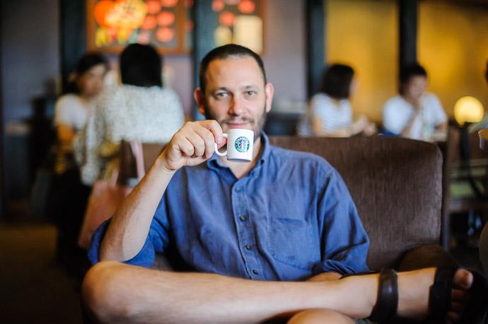 Sanjo Starbucks  --  Kyoto, Japan  --  Copyright 2011 Jeffrey Friedl, http://regex.info/blog/