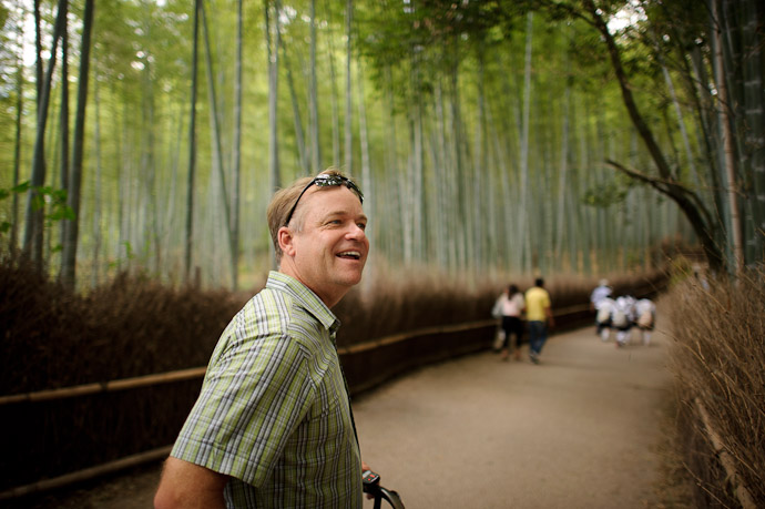 Enjoying the Day -- Arashiyama (嵐山) -- Kyoto, Japan -- Copyright 2011 Jeffrey Friedl, http://regex.info/blog/