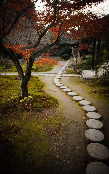 desktop background image of a garden path at the Kajyuuji Temple (勧修寺), Kyoto Japan  --  Path at the Kajyuuji Temple (勧修寺), Kyoto Japan  --  Kajyuuji Temple (勧修寺)  --  Copyright 2011 Jeffrey Friedl, http://regex.info/blog/  --  This photo is licensed to the public under the Creative Commons Attribution-NonCommercial 3.0 Unported License http://creativecommons.org/licenses/by-nc/3.0/ (non-commercial use is freely allowed if proper attribution is given, including a link back to this page on http://regex.info/ when used online)