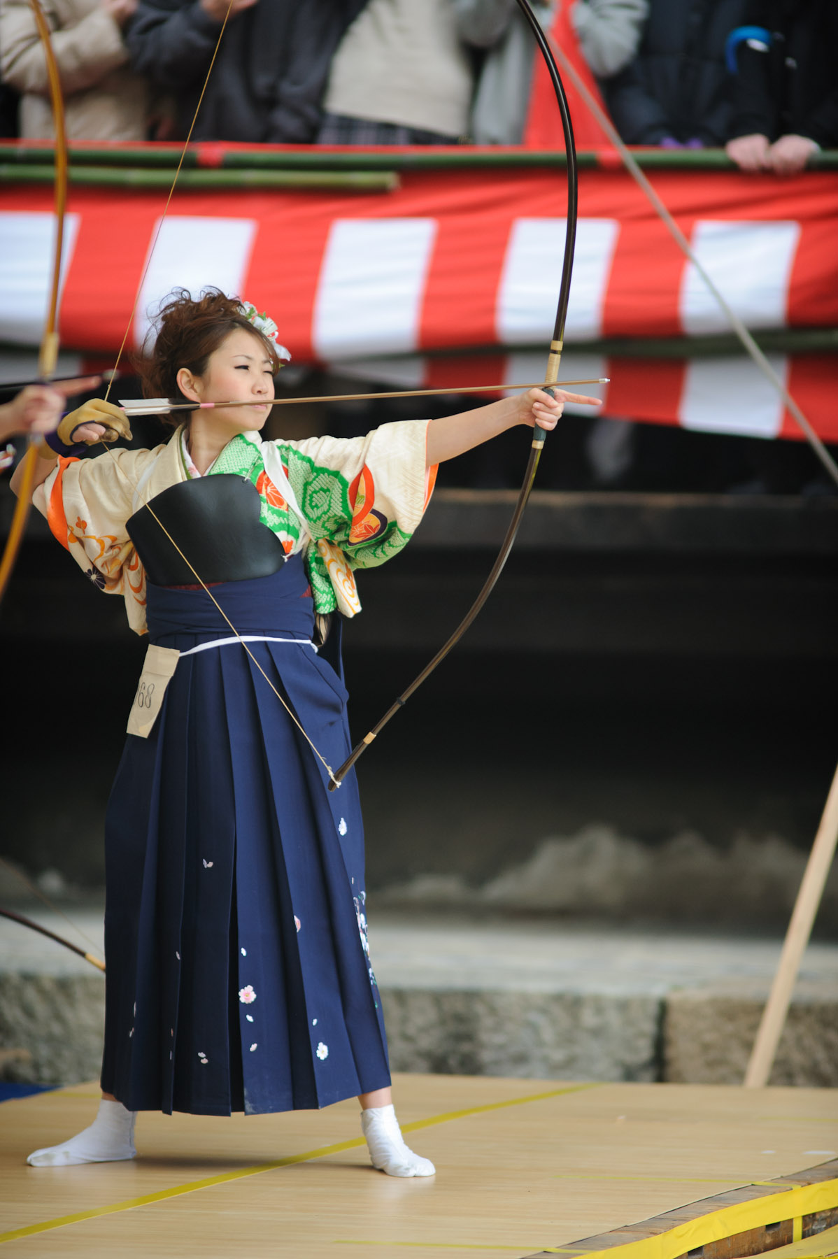 Female Japanese Archer - Operation18 - Truckers Social