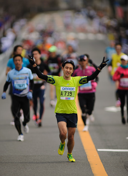 Peace -- Kyoto City Marathon (京都マラソン) -- Kyoto, Japan -- Copyright 2012 Jeffrey Friedl, http://regex.info/blog/