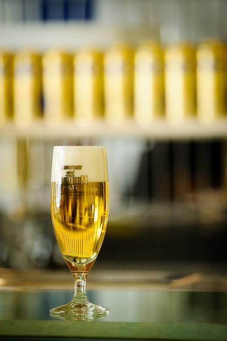 My Glass #1  --  Suntory Beer Kyoto Brewery  --  Nagaokakyo, Kyoto, Japan  --  Copyright 2012 Jeffrey Friedl, http://regex.info/blog/