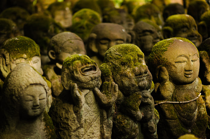 My Version -- Otaginenbutsuji Temple (愛宕念仏寺) -- Kyoto, Japan -- Copyright 2012 Jeffrey Friedl, http://regex.info/blog/