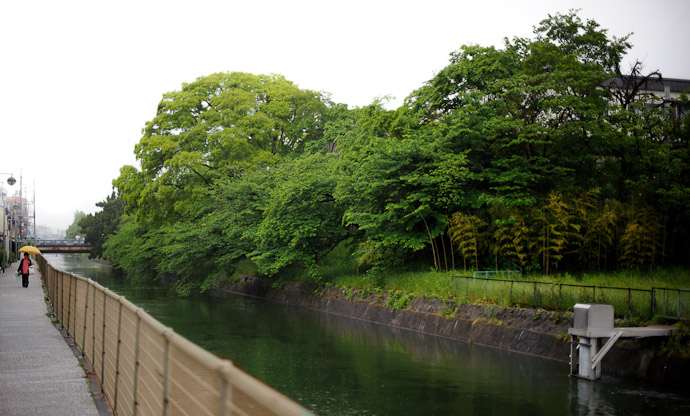 Canal  --  Kyoto, Japan  --  Copyright 2012 Jeffrey Friedl, http://regex.info/blog/