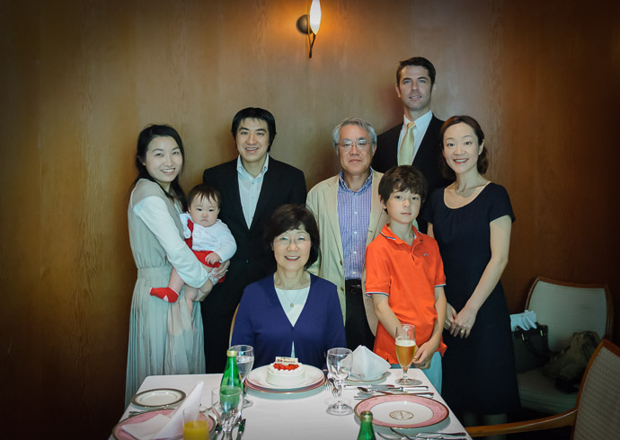 Family Portrait  --  Kyoto, Japan  --  Copyright 2012 Jeffrey Friedl, http://regex.info/blog/