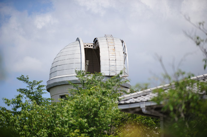 Thar She Blows  --  Kyoto University Kwasan Observatory (京都大学 花山天文台)  --  Kyoto, Japan  --  Copyright 2012 Jeffrey Friedl, http://regex.info/blog/
