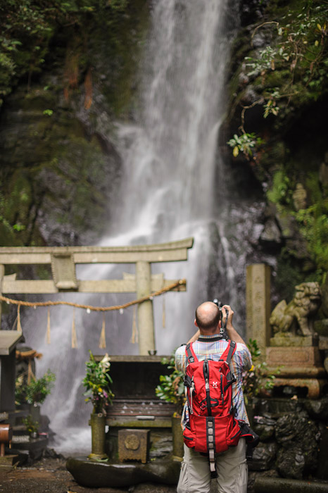 Kuuya-taki Waterfall (空也滝)  --  Kyoto, Japan  --  Copyright 2012 Jeffrey Friedl, http://regex.info/blog/