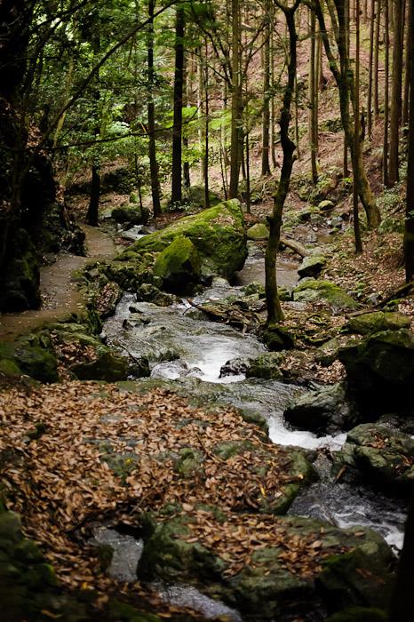 Kuuya-taki Waterfall (空也滝)  --  Kyoto, Japan  --  Copyright 2012 Jeffrey Friedl, http://regex.info/blog/