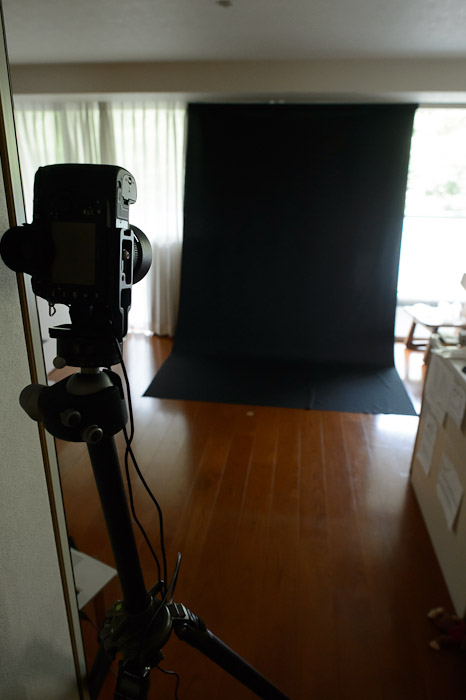 "My ""Studio"" for the afternoon  --  Kyoto, Japan  --  Copyright 2012 Jeffrey Friedl, http://regex.info/blog/"