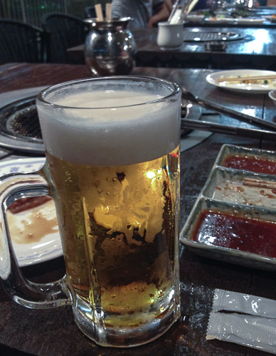 Beer #3.5 Elapsed Time: 0h 59m  --  Hotel Avanshell Kyoto  --  Kyoto, Japan  --  Copyright 2012 Jeffrey Friedl