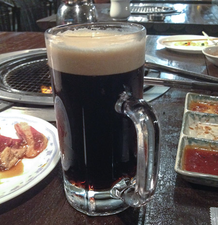 Beer #4.5 Elapsed Time: 1h 24m  --  Hotel Avanshell Kyoto  --  Kyoto, Japan  --  Copyright 2012 Jeffrey Friedl
