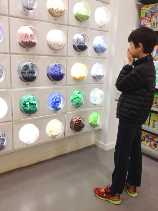 So Many Choices  --  LEGO Store  --  Beachwood, Ohio, United States  --  Copyright 2013 Jeffrey Friedl, http://regex.info/blog/