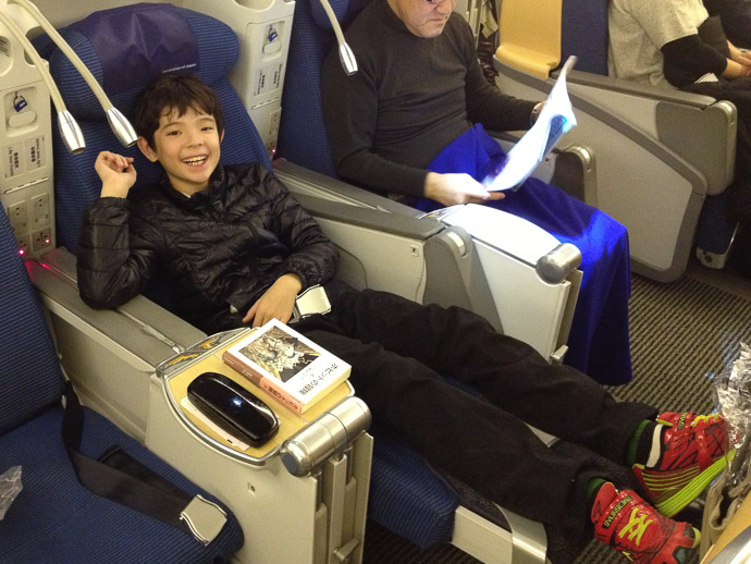 Enjoying The Fun Seats -- Japan -- Copyright 2013 Jeffrey Friedl