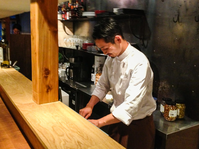 Preparing a (the first!) Cheese Plate Nov 30, 2013 -- acá1° -- Kyoto, Japan
