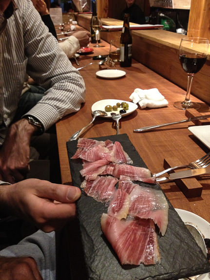 Mmmmmmm, Ham Nov 30, 2013 as Damien Douxchamps also joins in on opening day -- acá1° -- Kyoto, Japan