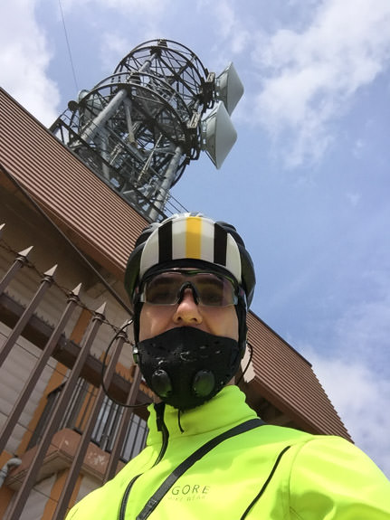 At The Top -- Summit of Mt. Rokko (六甲山山頂) -- Kobe, Hyogo, Japan -- Copyright 2017 Jeffrey Friedl, http://regex.info/blog/