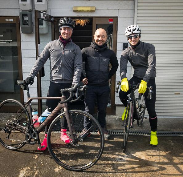 Joey, Yukikaze, Jason -- Canyon Japan -- Kyoto, Japan -- Copyright 2018 Jeffrey Friedl, http://regex.info/blog/