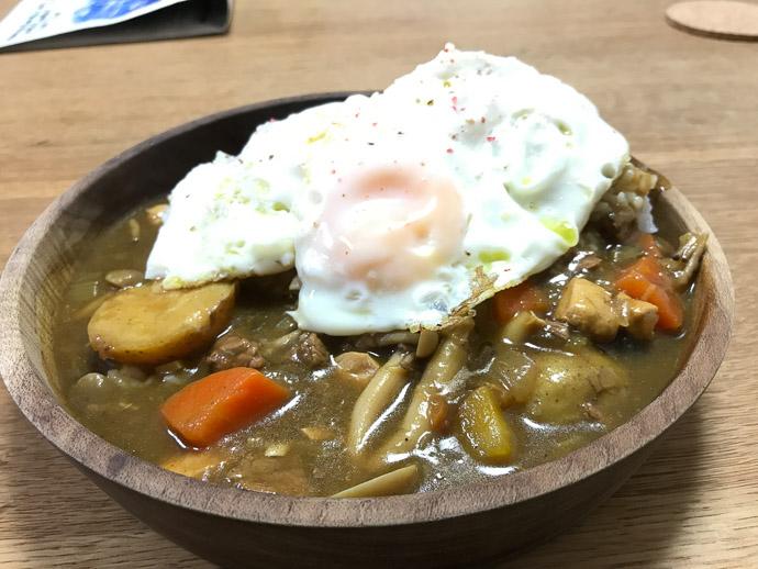 Huge Bowl of Curry that Yasuko-san had made -- 14-5 -- Naha, Okinawa, Japan -- Copyright 2018 Jeffrey Friedl, http://regex.info/blog/