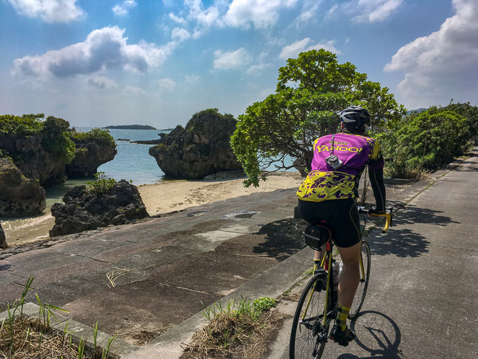 Along the Rocky Coast photo by Jason Eisenmenger -- 558 -- Nanjo, Okinawa, Japan -- Copyright 2018 Jeffrey Friedl, http://regex.info/blog/