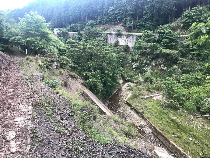 Most of the Road is Gone -- Nantan, Kyoto, Japan -- Copyright 2018 Jeffrey Friedl, http://regex.info/blog/