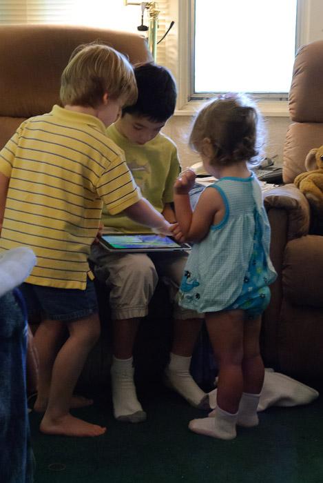 iPad: Like Crack Cocaine for Kids photo by Marci Kreta -- Rootstown, Ohio, USA -- Copyright 2010 Marci Kreta