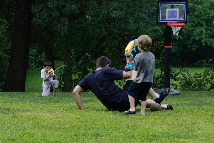 Ganging Up -- Rootstown, Ohio, USA -- Copyright 2010 Marci Kreta