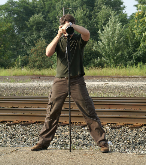 Marginal Monopod Stance -- Alliance, Ohio, USA -- Copyright 2007 Marcina Kreta