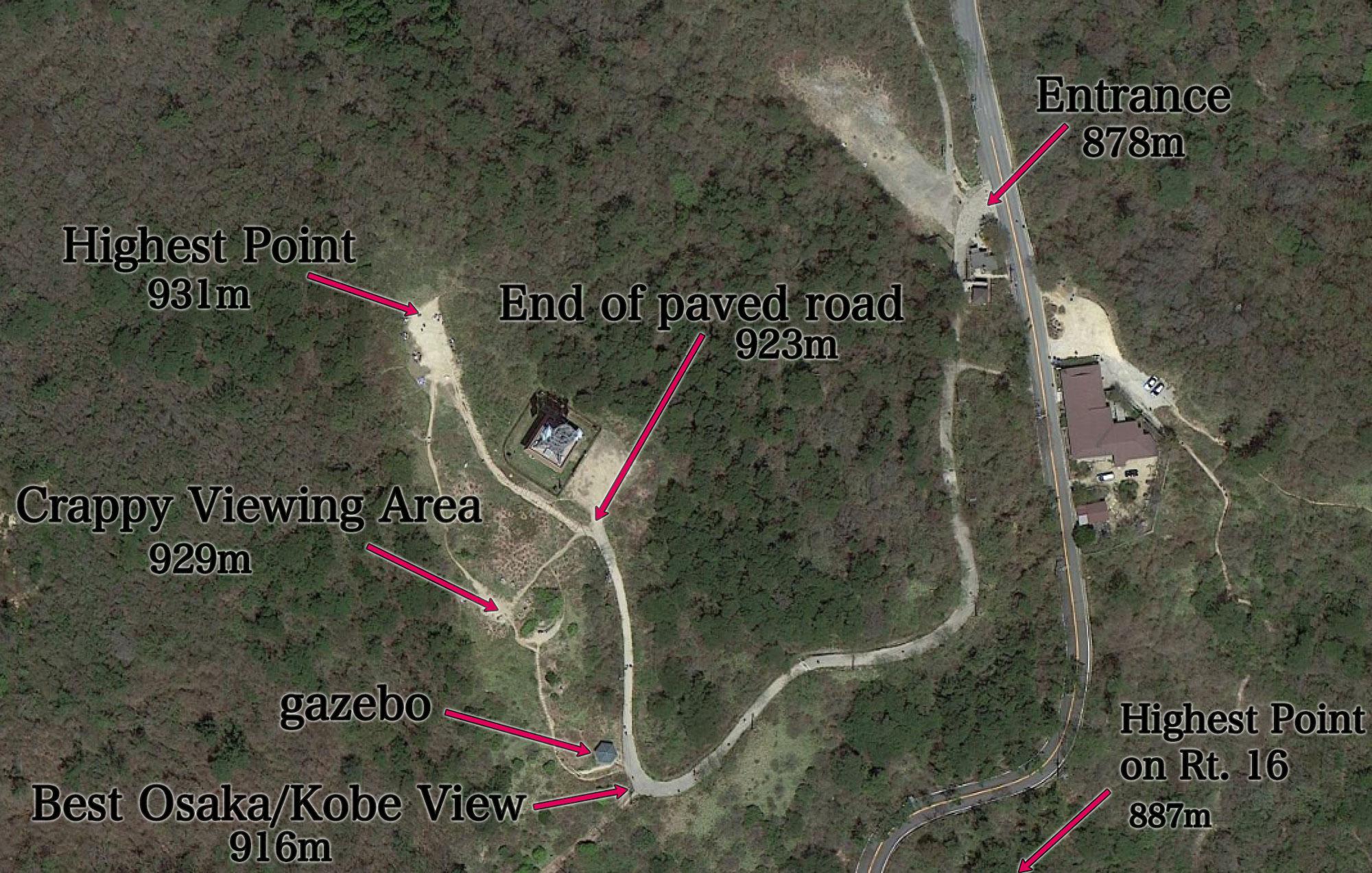 Jeffrey Friedls Blog My First Climb up Kobes Mt Rokko