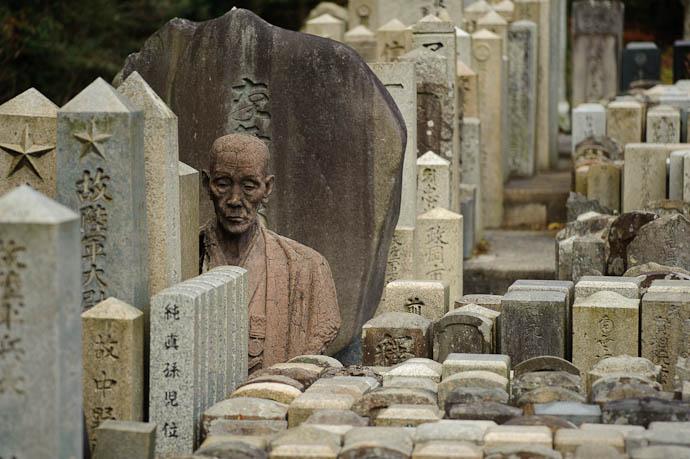 Dispassionate Observer deep in the mountains of Kansai, Japan -- Copyright Jeffrey Friedl, http://regex.info/blog/