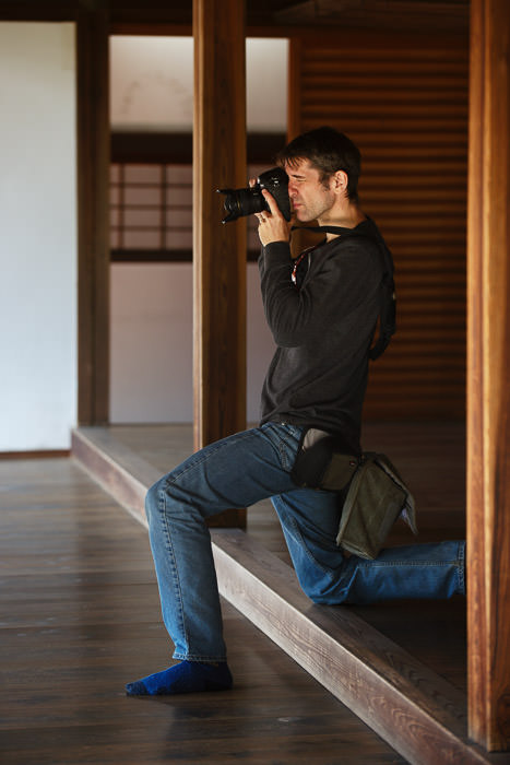 Me of squished-nose fame photo by Damien Douxchamps -- Zuishin Temple (随心院) -- Kyoto, Japan -- Copyright 2014 Damien Douxchamps