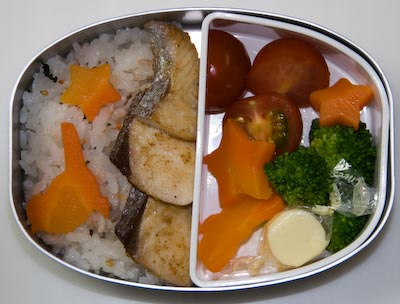 Anthony's Bento for Tuesday, April 25th, 2006