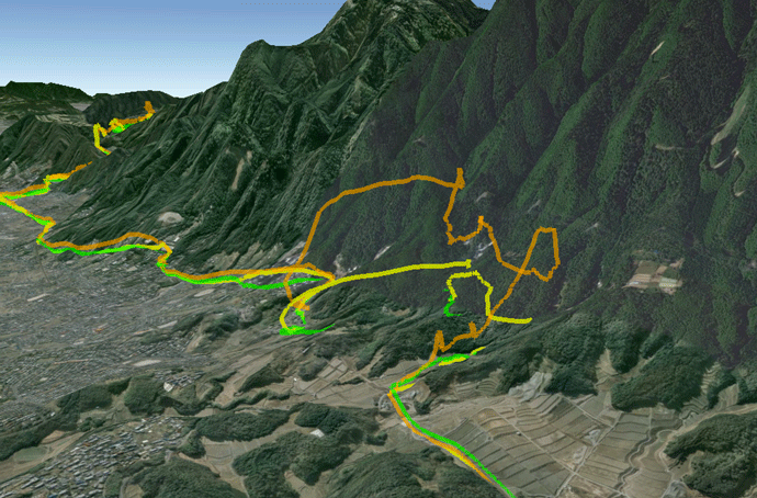 Gps Elevation Map.Jeffrey Friedl S Blog The Voodoo Of Elevation Gain And Strava And