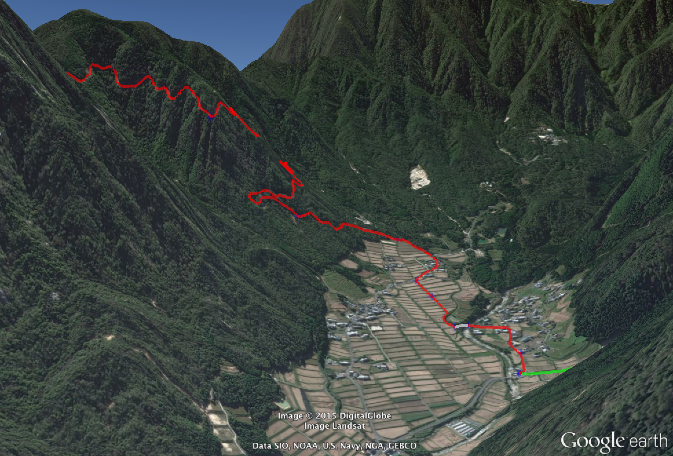 Jeffrey Friedls Blog The Voodoo Of Elevation Gain And Strava - Elevation data google maps