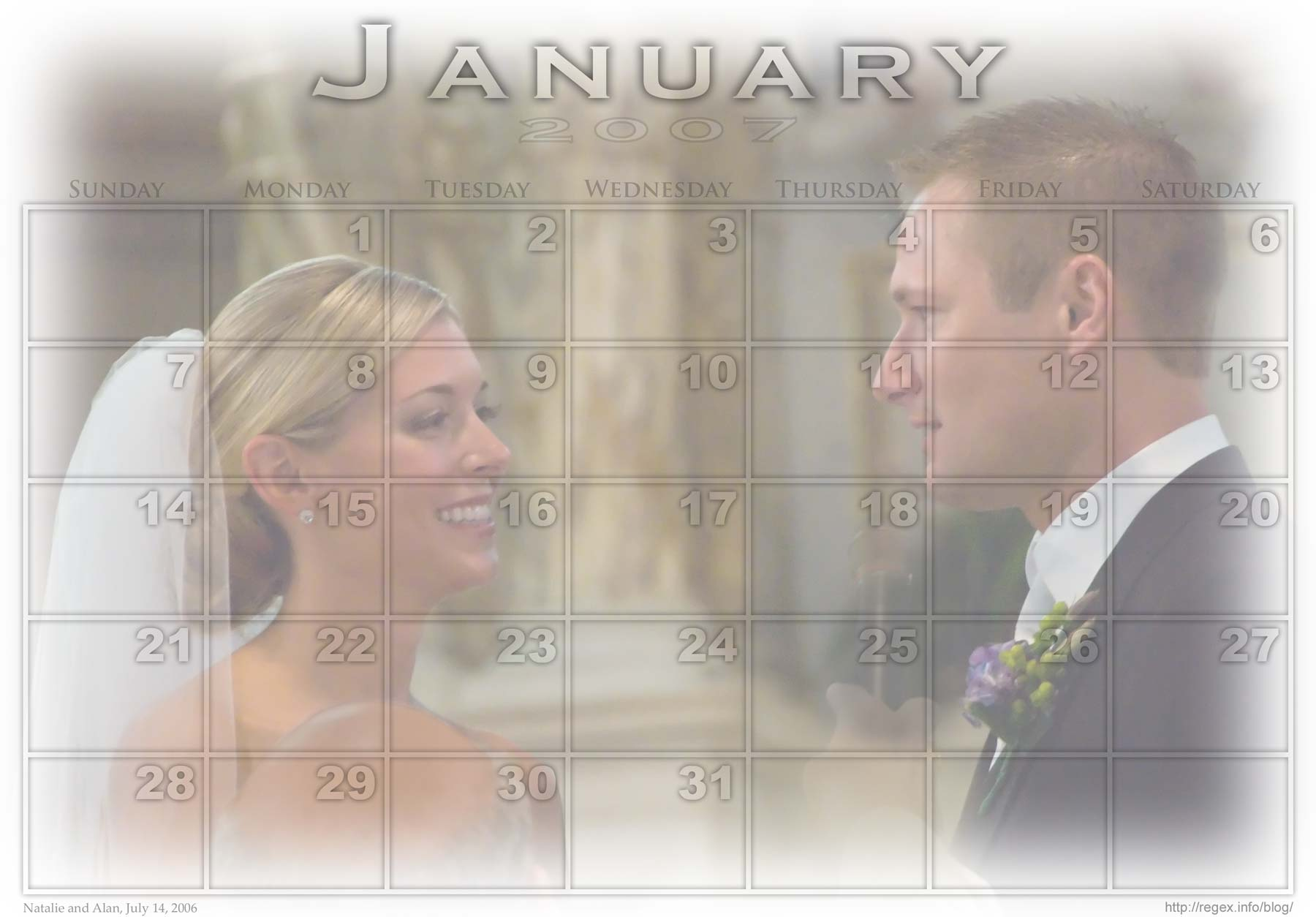 Photo-calendar created with Jeffrey's Photoshop Calendar-Building