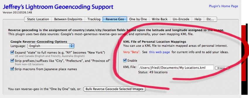Jeffrey Friedl's Blog » Enhanced Reverse Geocoding With a