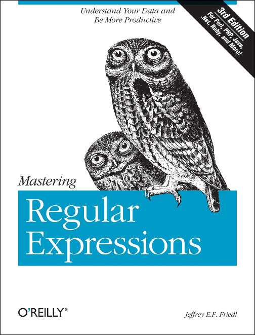 Mastering Regular Expressions preview 0