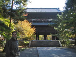 Jeffrey at the main gate
